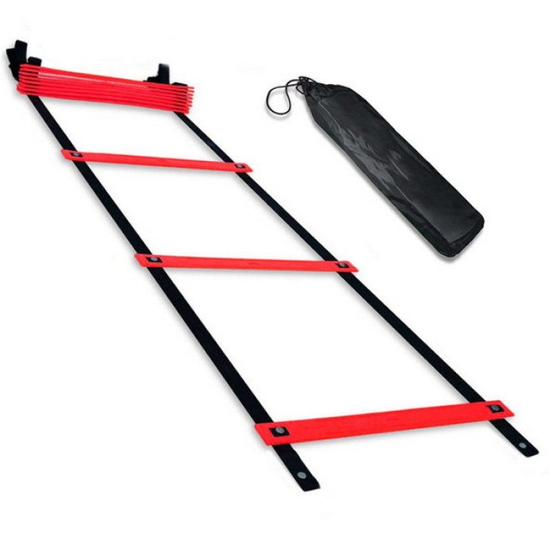 Лестница координационная 4 метра (красная в чехле) B31305-4