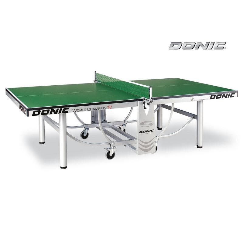 Теннисный стол Donic World Champion TC без сетки 400240-G green