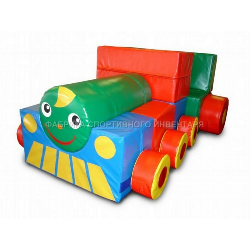 Детский конструктор ФСИ Веселый паровозик 4631