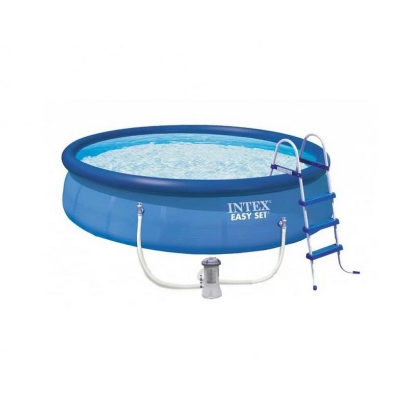 Бассейн 457х122см+фильтр-насос Intex Easy Set 26168