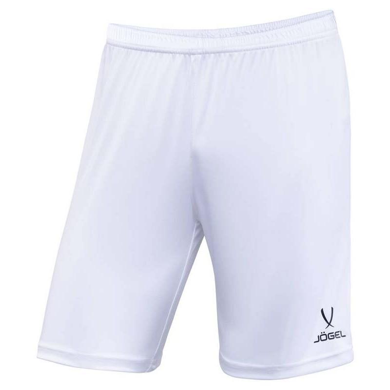 Шорты футбольные J?gel JFT-1120-018, белый/черный