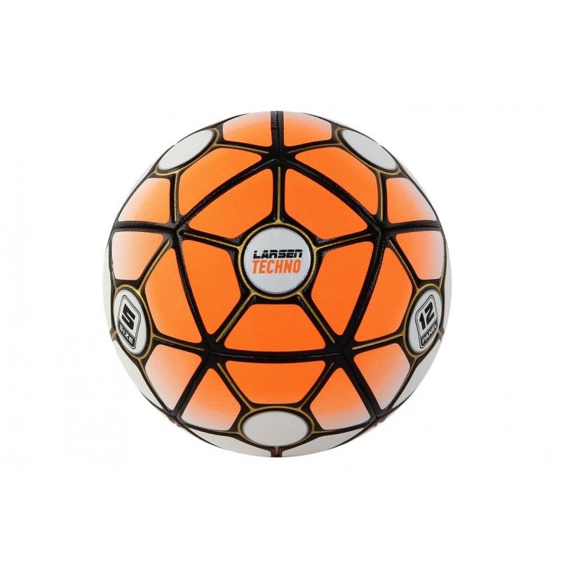 Мяч футбольный Larsen Techno Orange р.5