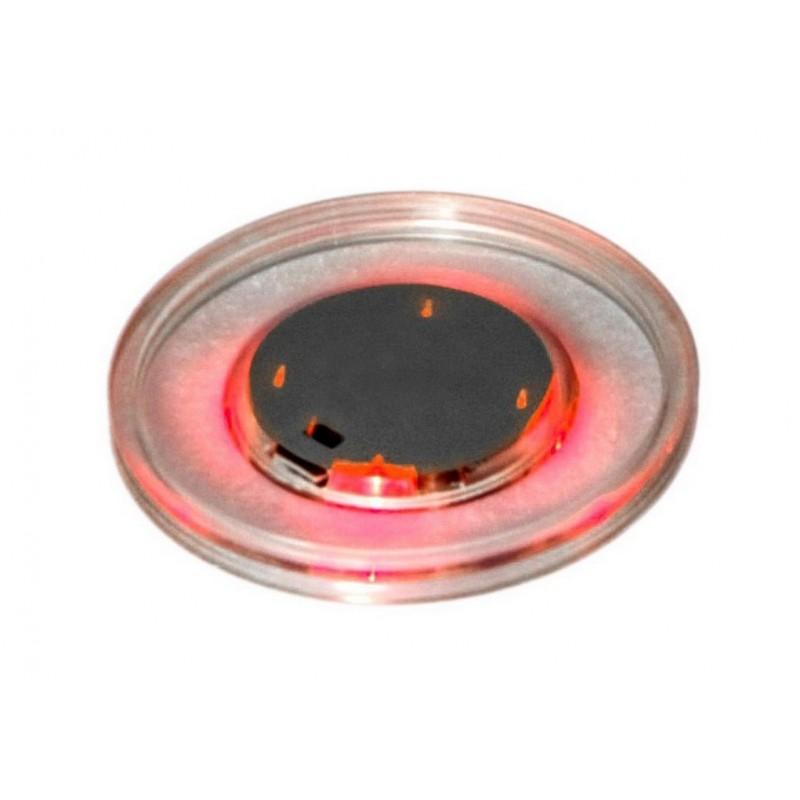 Шайба для аэрохоккея LED Atomic LUMEN-X LASER D65 mm  52.709.00.3 прозрачная, красный светодиод