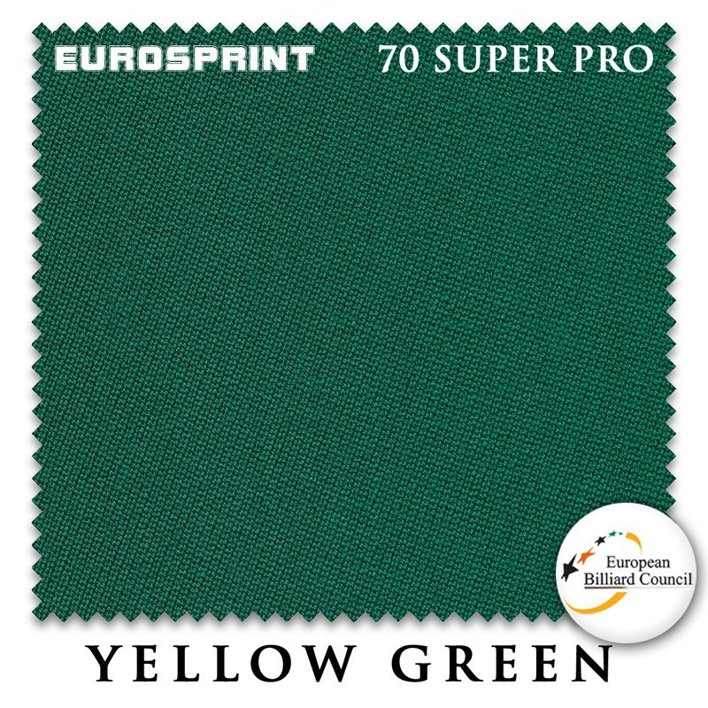 Сукно Eurosprint 70 Super Pro 198см Yellow Green 60М
