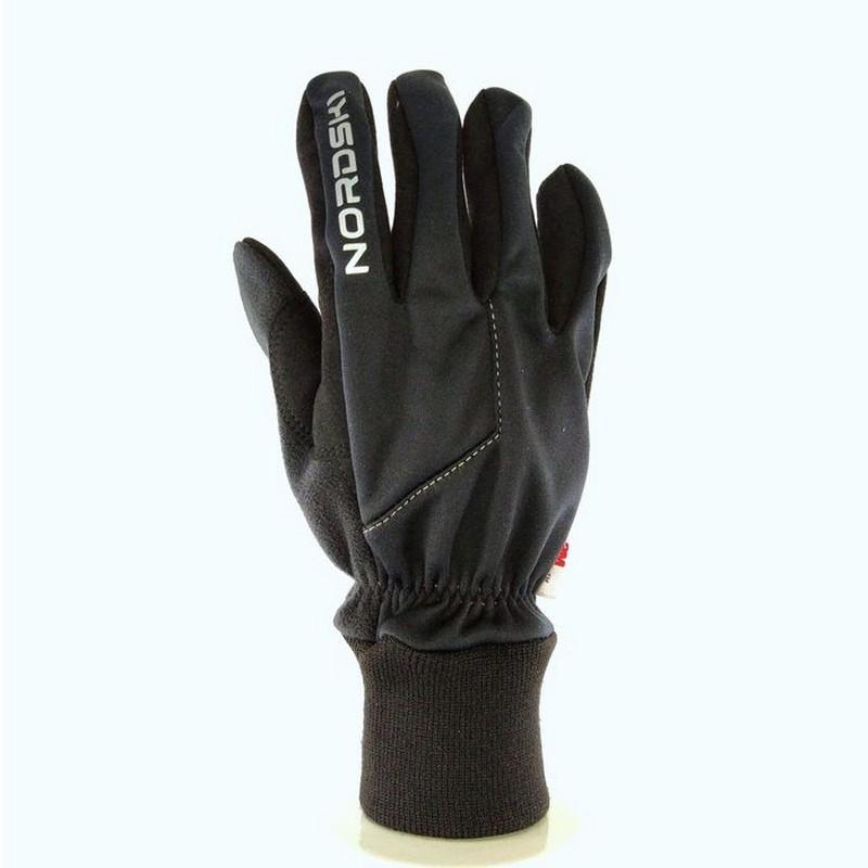 Перчатки лыжные Nordski Jr Motion WS NSJ136100 черный
