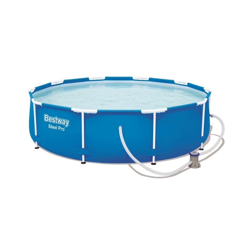 Каркасный бассейн круглый 305x76см Bestway Steel Pro 56679