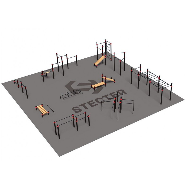 Проект Stecter Районная площадка для Воркаут 3-1 5093