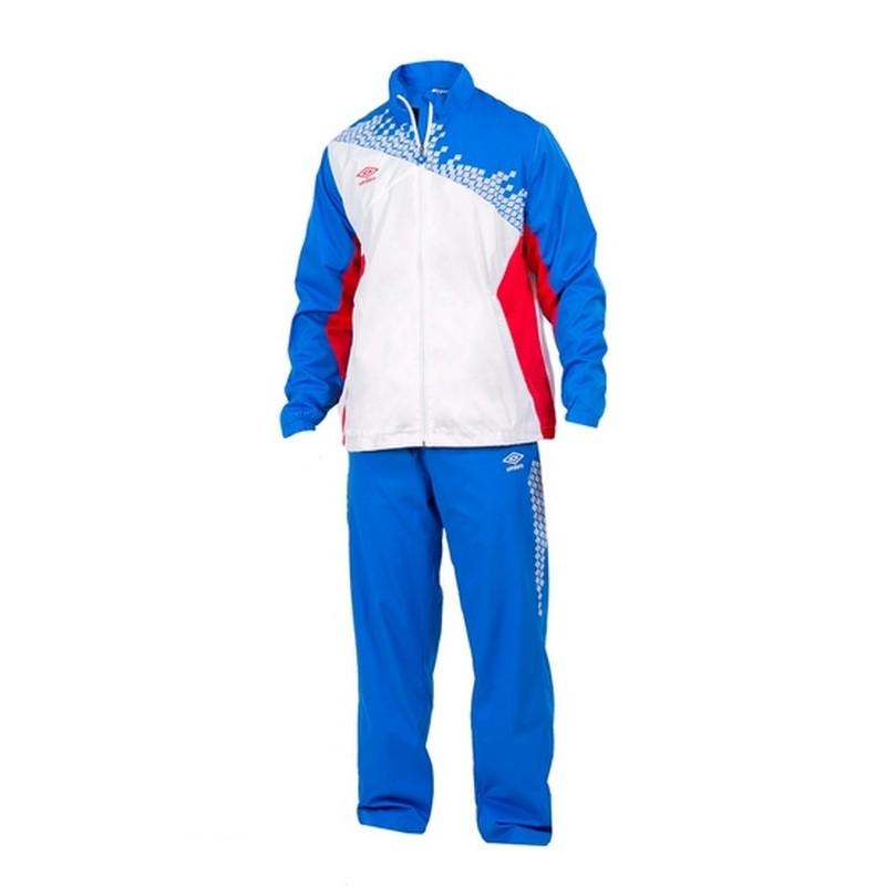 Костюм спортивный Umbro Armada Lined Suit мужской 460115 (172) бел/син/красн.