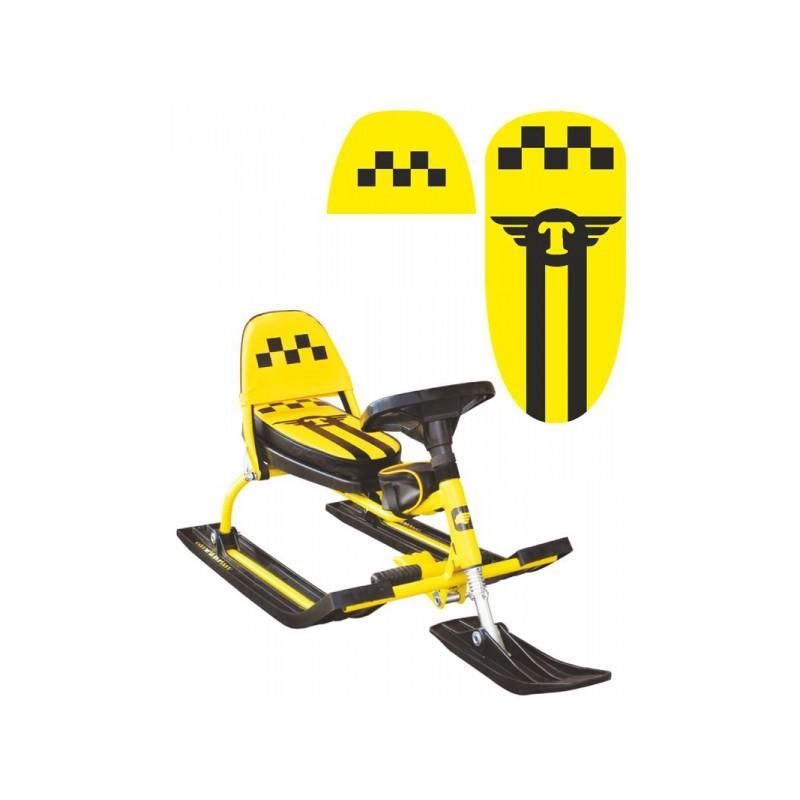Снегокат Барс 107 Comfort (Taxi) желтый