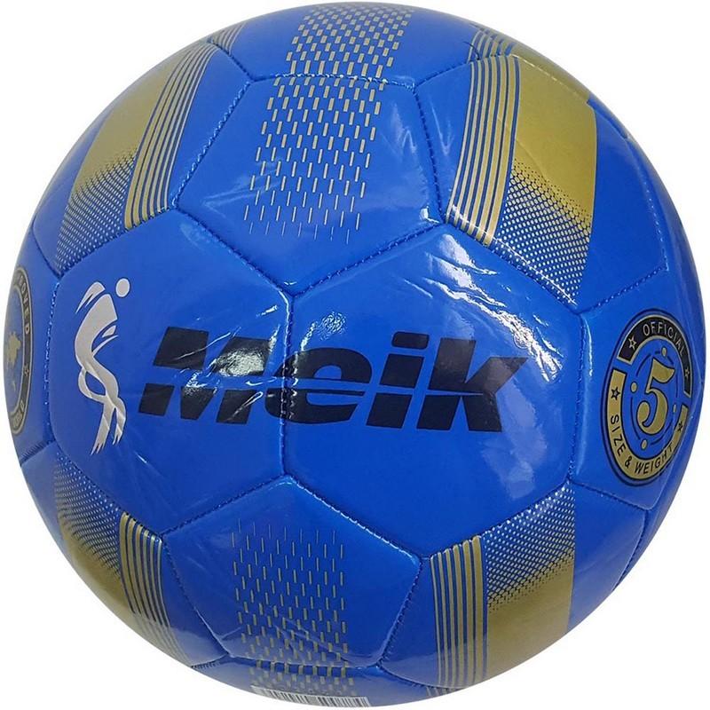 Мяч футбольный Meik 078 B31315-1 р.5 синий