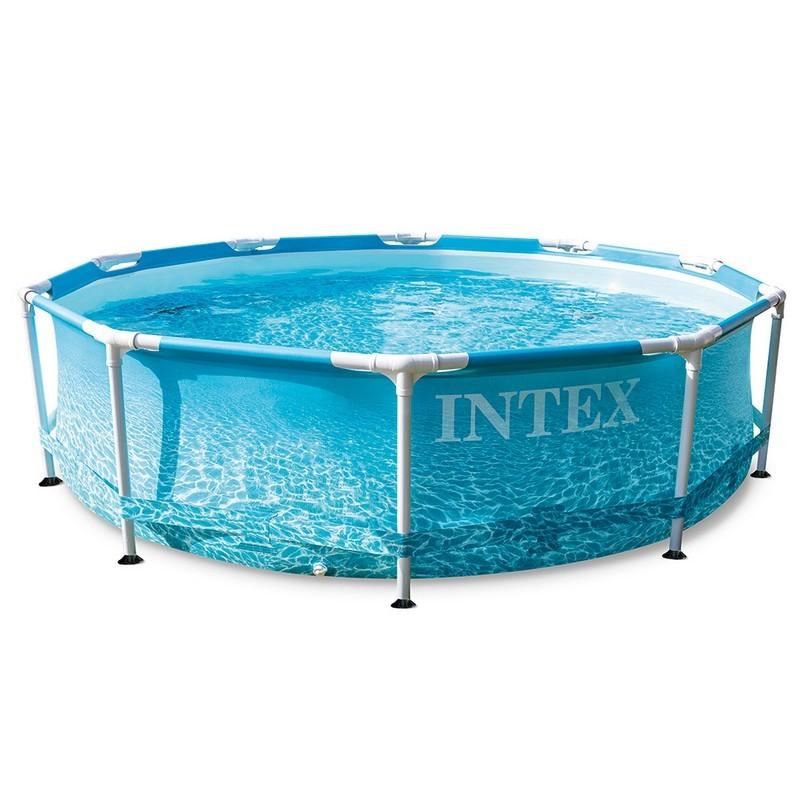 Каркасный бассейн Metal Frame 305х76см Intex Beachside 28208
