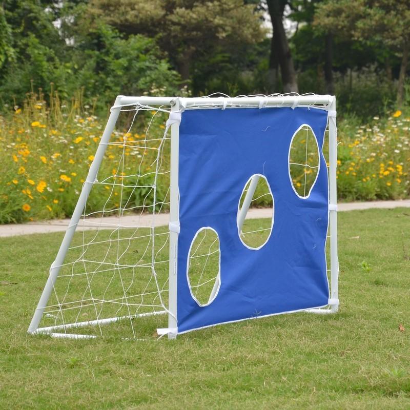 Ворота игровые DFC Goal150T с тентом для отрабатывания ударов 150x110x60см