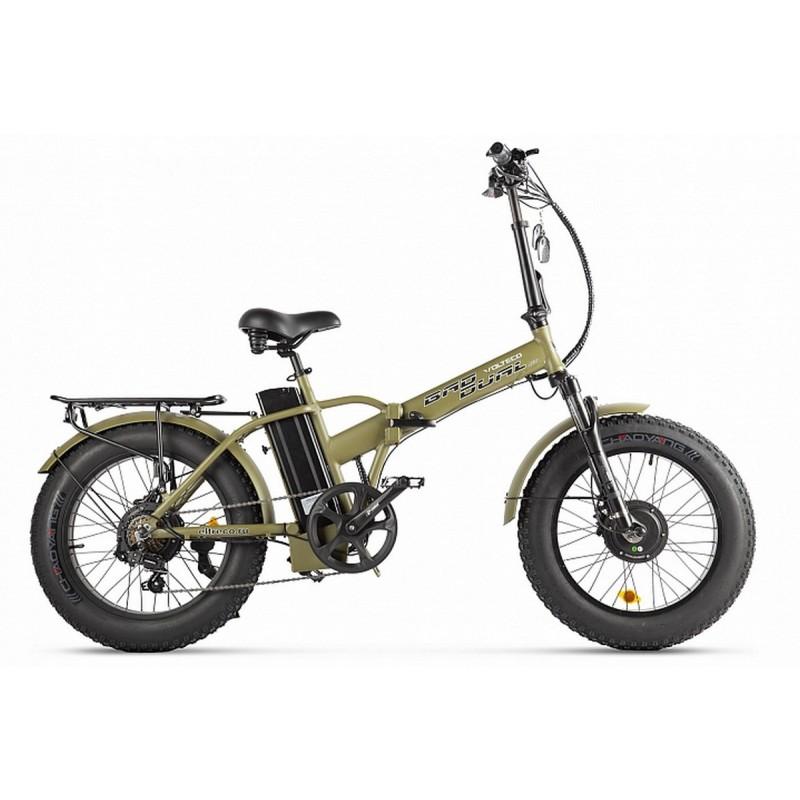 Велогибрид Volteco Bad Dual New 022561-2304 хаки