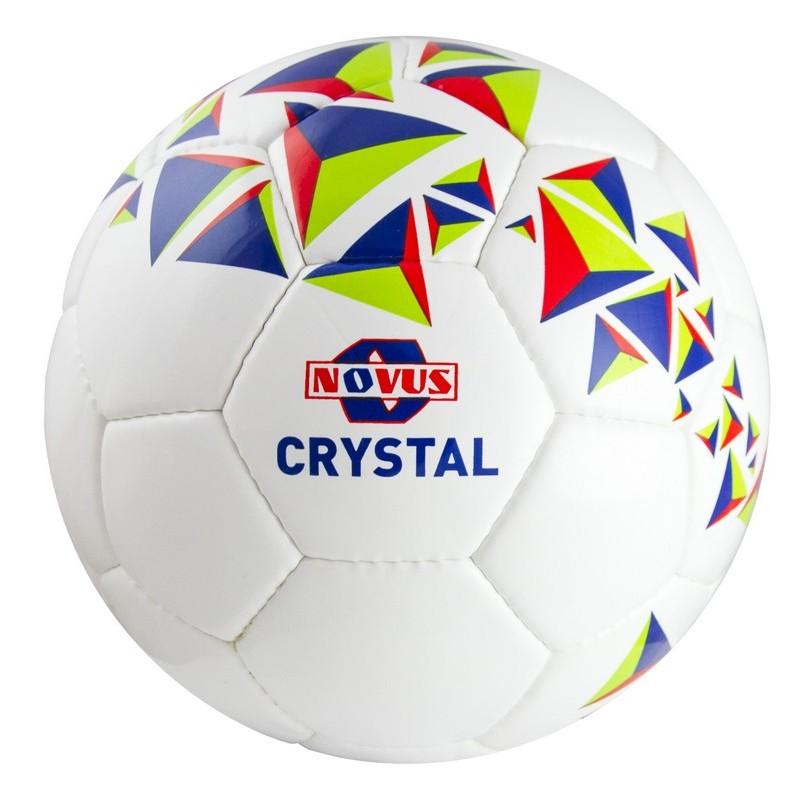 Мяч футбольный Novus Crystal р.3 бело-сине-красный