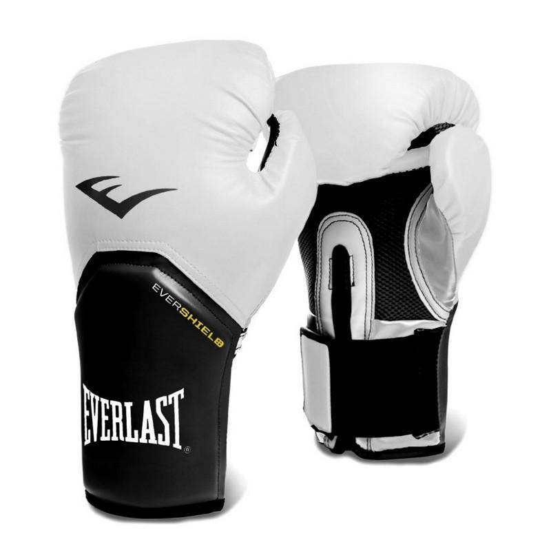 Перчатки тренировочные Everlast Elite ProStyle 12oz P00001197 белый