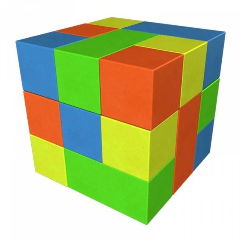 Игровой модуль Конструктор Кубик-Рубик №2 Мини Dinamika ZSO-002878