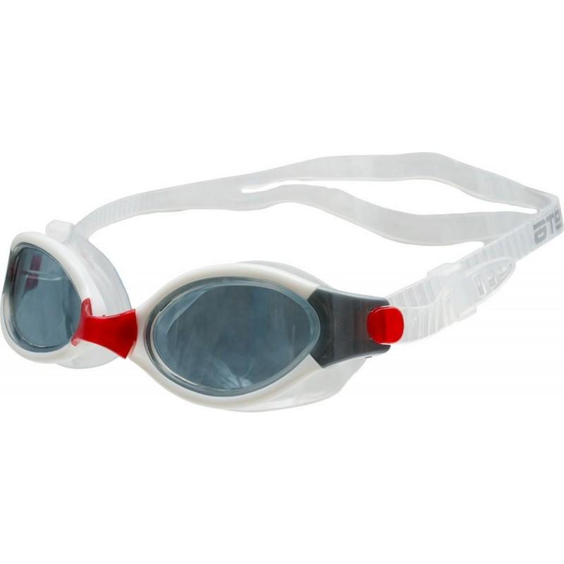 Очки для плавания Atemi B504 белый\красный