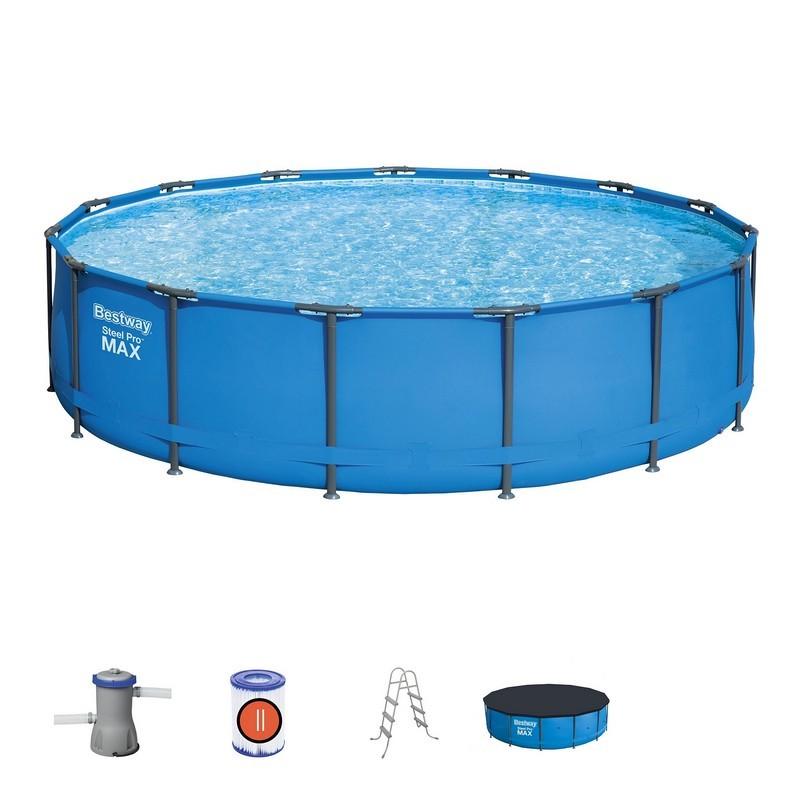 Каркасный бассейн Bestway 427х107см 56950