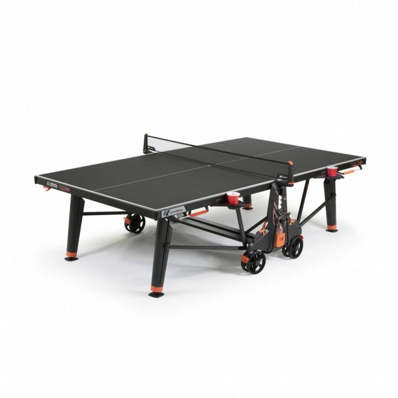 Теннисный стол всепогодный Cornilleau 700X Outdoor black 8 mm