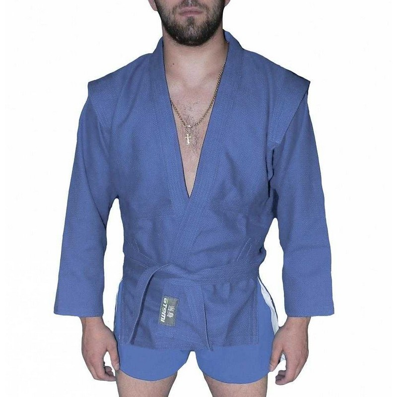 Куртка для самбо ёлочка без подкладки Atemi плотность 500 гр/м2 AX5