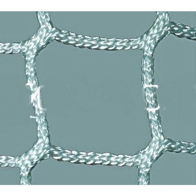 Сетка гашения для хоккейных ворот нить 5,0 мм,безузловая ПрофСетка 3150-03 пара