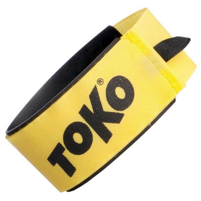 Стяжки TOKO Ski Clip Alpine (для горных лыж, 1шт.), желтый 5540499