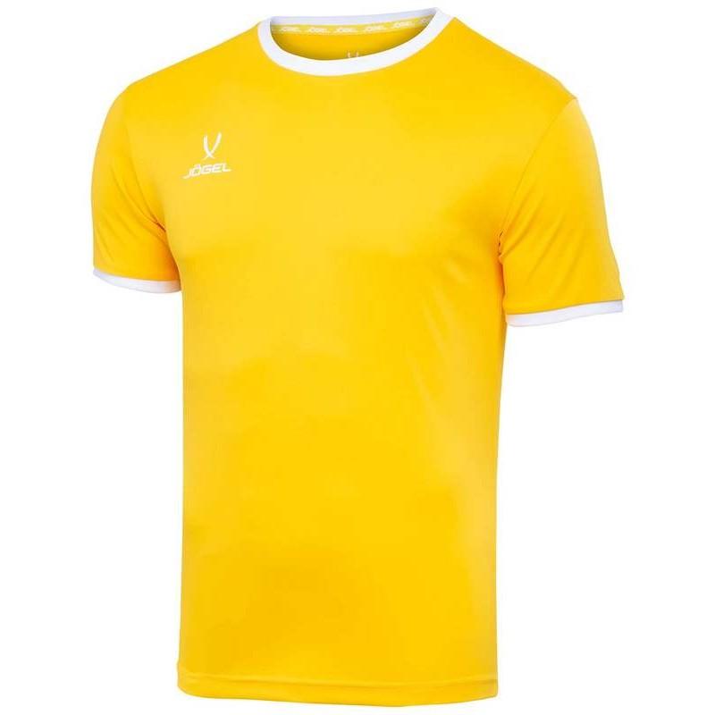 Футболка футбольная J?gel JFT-1020-041, желтый/белый