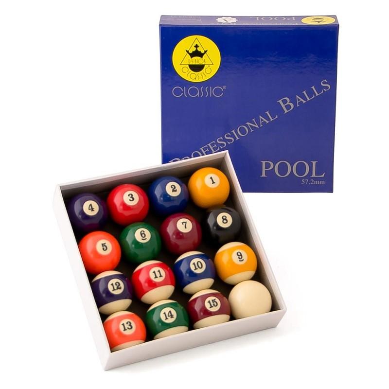 Комплект шаров Weekend 57.2 мм Classic A-качество 70.036.57.0