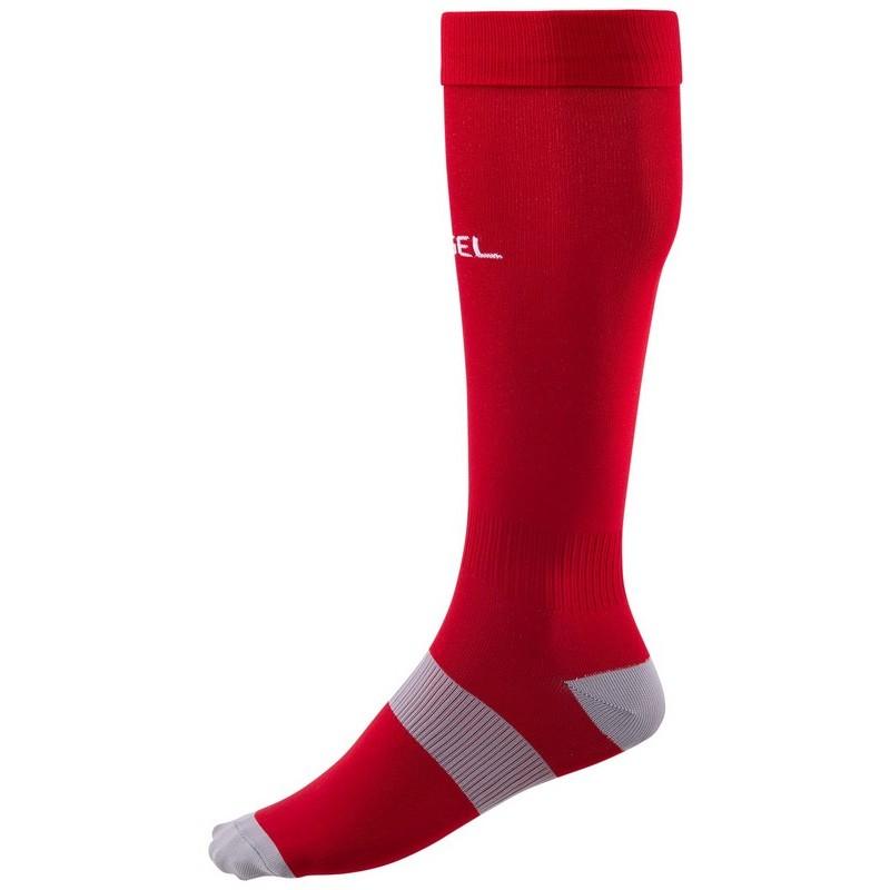 Гетры футбольные J?gel Essential JA-006, красный\серый