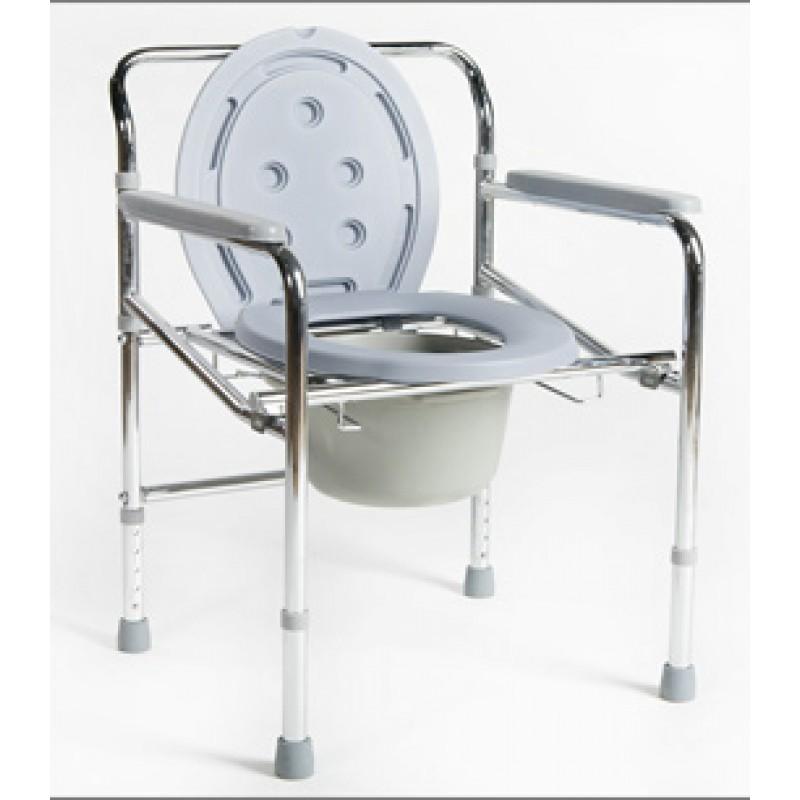 Кресло-туалет Titan Deutsch Gmbh Akkord-Midi складной, не съемный подлокотник LY-2012