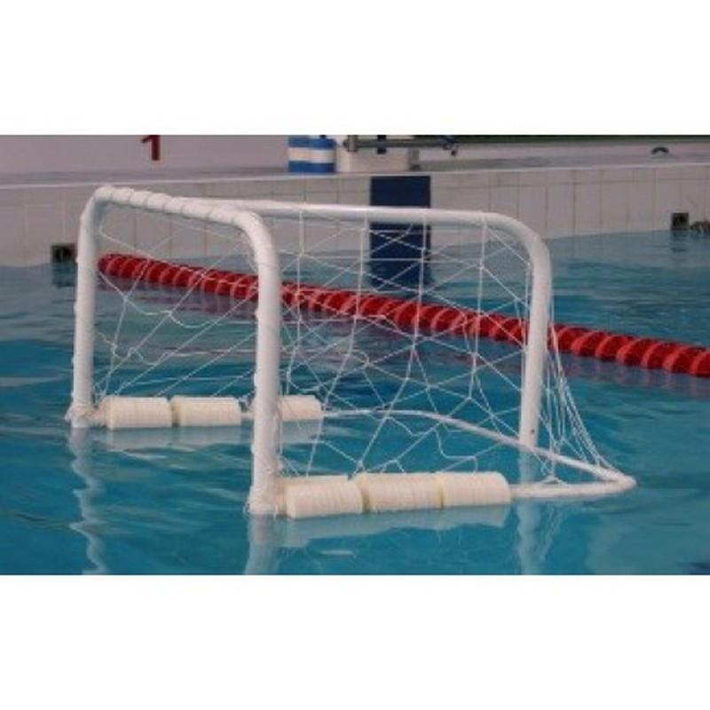 Сетка водное поло Д= 2,8мм, яч. 10x10, цв. белый. ZSO Размер 0,90x3,00x1,00м. ПП