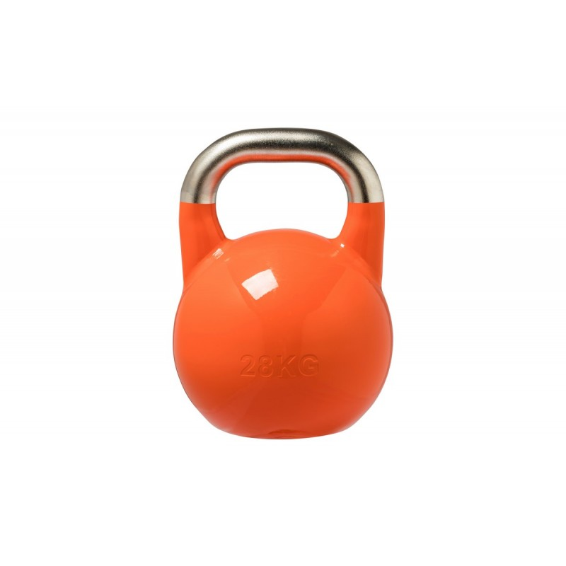Гиря соревновательная стальная 28 кг DB 2180 U оранжевый