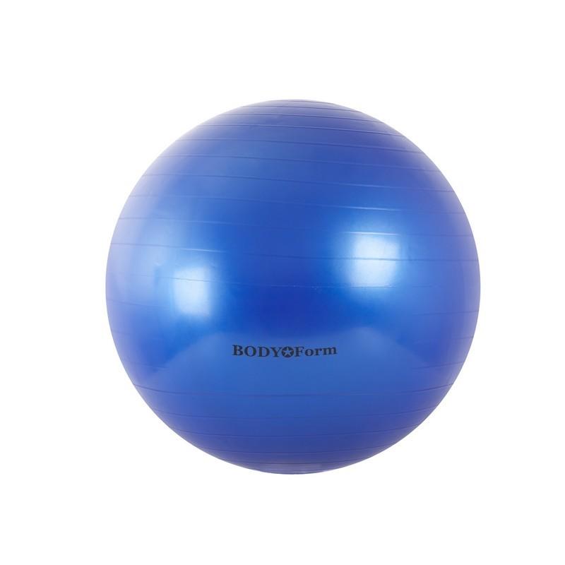 Гимнастический мяч Body Form BF-GB01 D55 см. синий