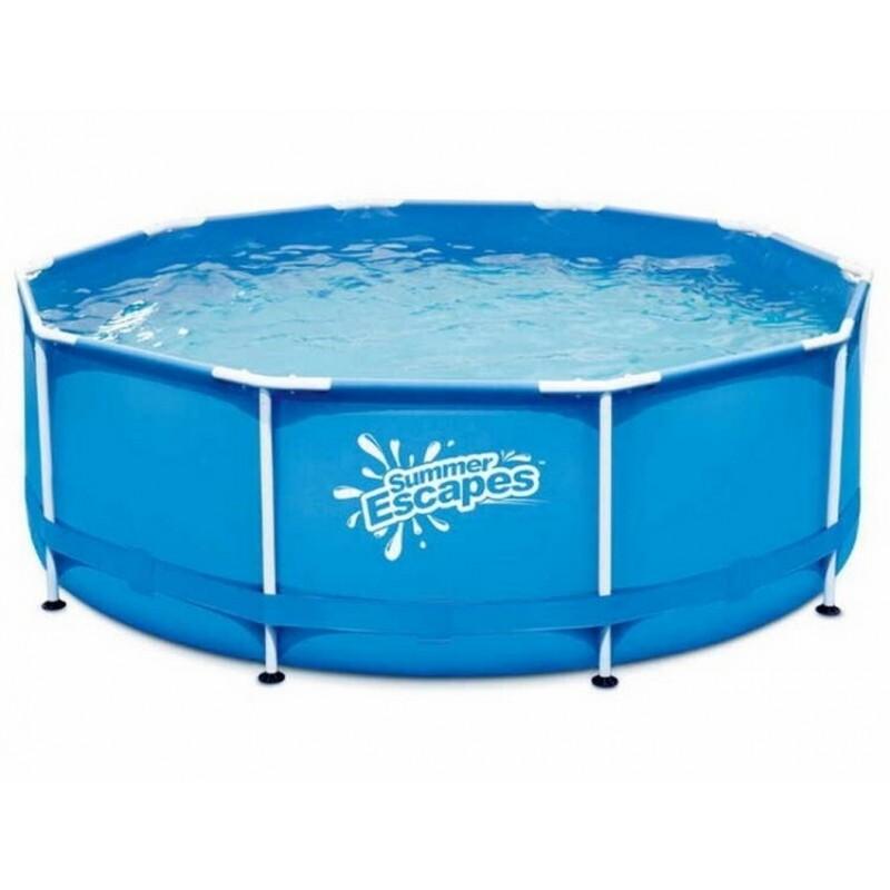 Каркасный бассейн круглый 305х76см SummerEscapes P20-1030