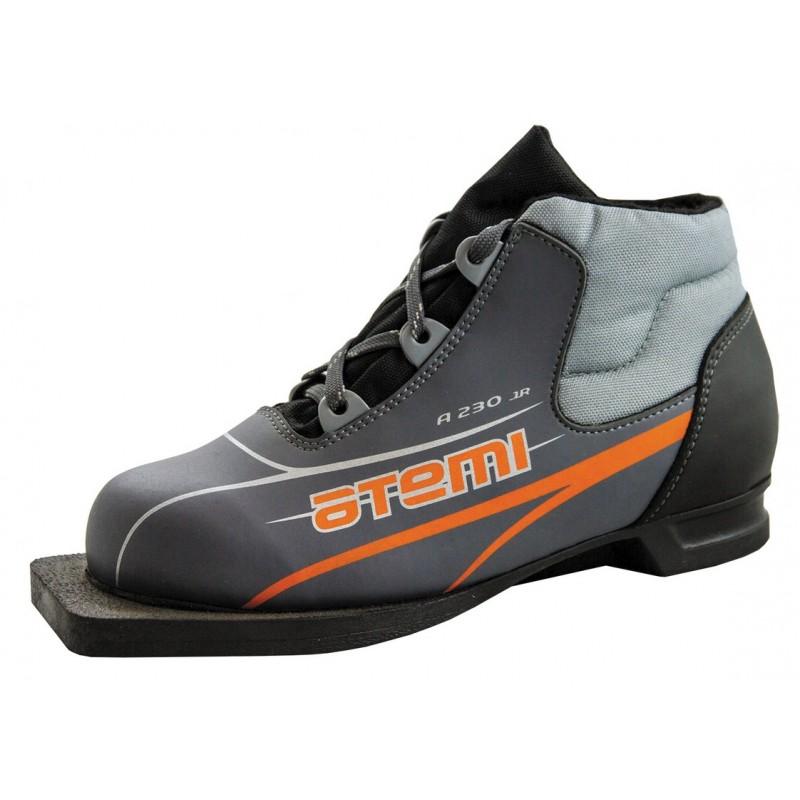 Лыжные ботинки NN75 Atemi А230 Jr grey
