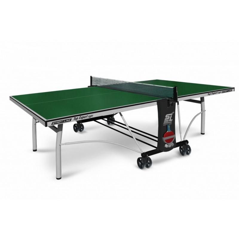 Теннисный стол Start Line Top Expert Light Green с сеткой