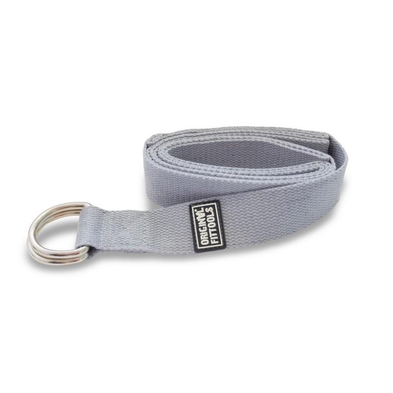 Ремешок для йоги Original Fit.Tools 243 см, серый