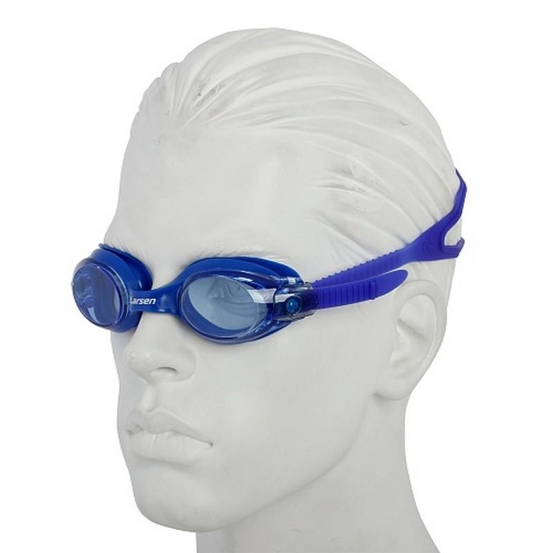 Очки плавательные Larsen S28 синий