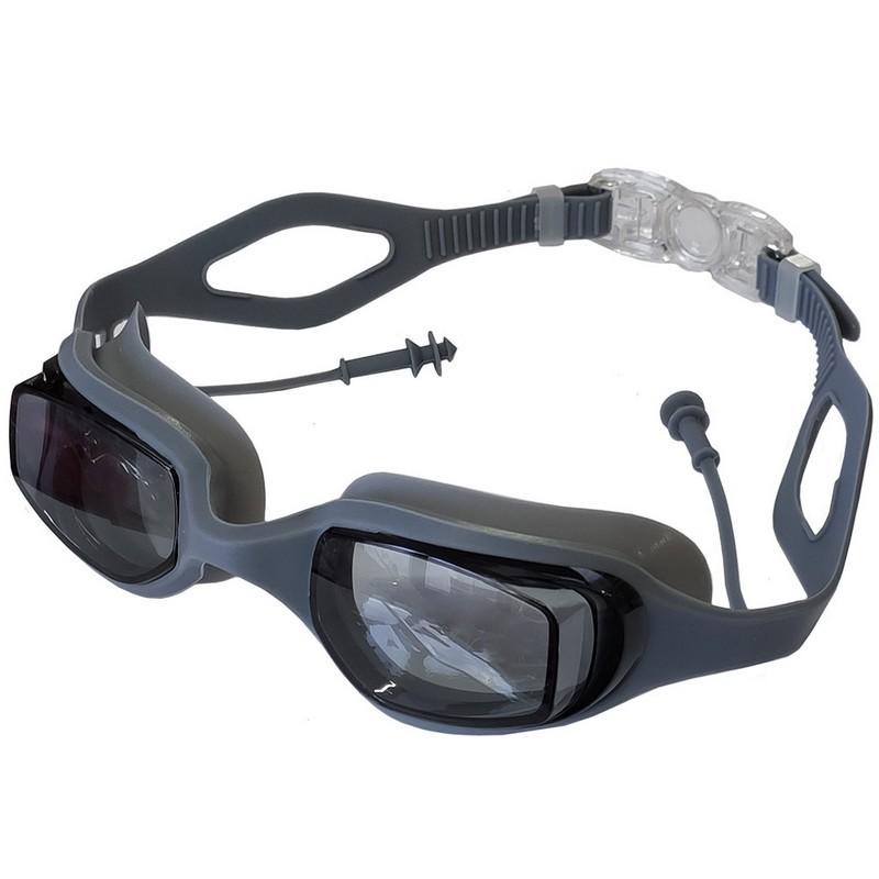 Очки для плавания с берушами B31539-9 Серебро