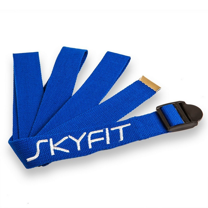 Ремень для йоги SkyFit SF-YS темно-синий