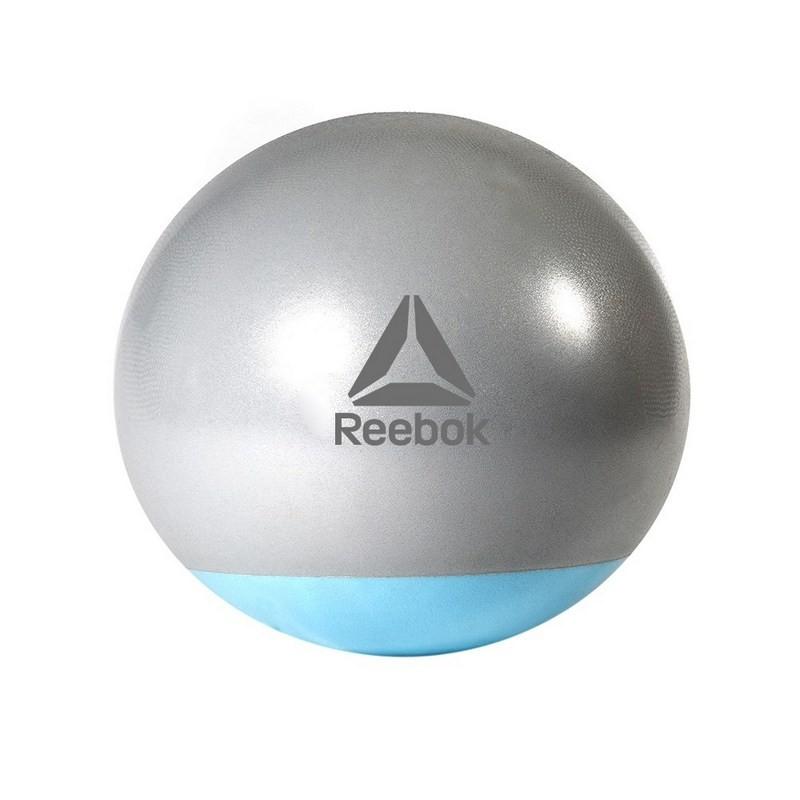 Гимнастический мяч двухцветный 75 см (голубой) Reebok RAB-40017BL