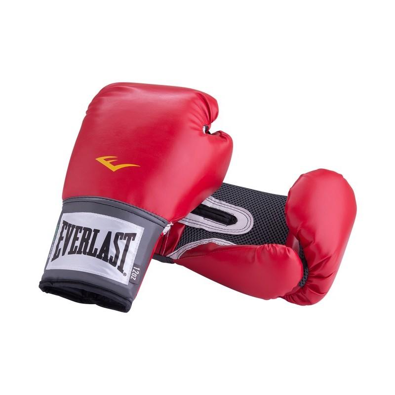 Перчатки боксерские Everlast Pro Style Anti-MB 2110U, 10oz, к/з, красный