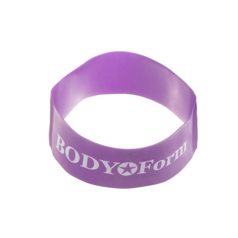 Петля Body Form BF-RL100 14кг/60см фиолетовый