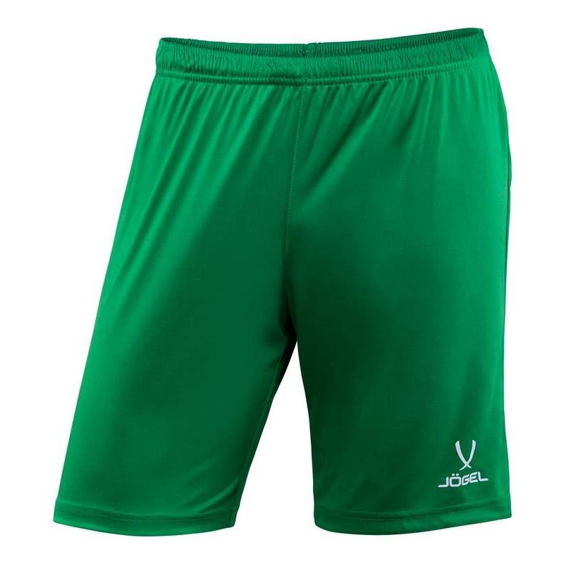 Шорты футбольные J?gel JFT-1120-031, зеленый/белый