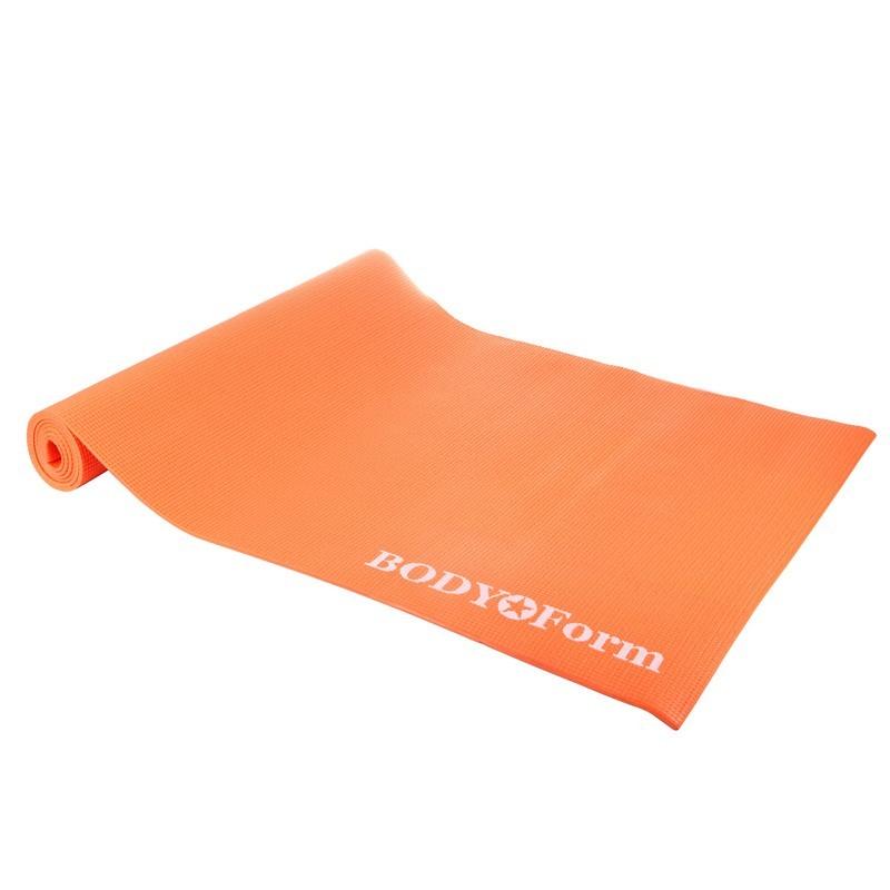 Коврик гимнастический Body Form 173x61x0,4 см BF-YM01 оранжевый