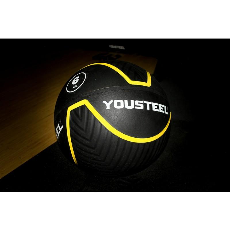Резиновый мяч Rubberball YouSteel 6кг