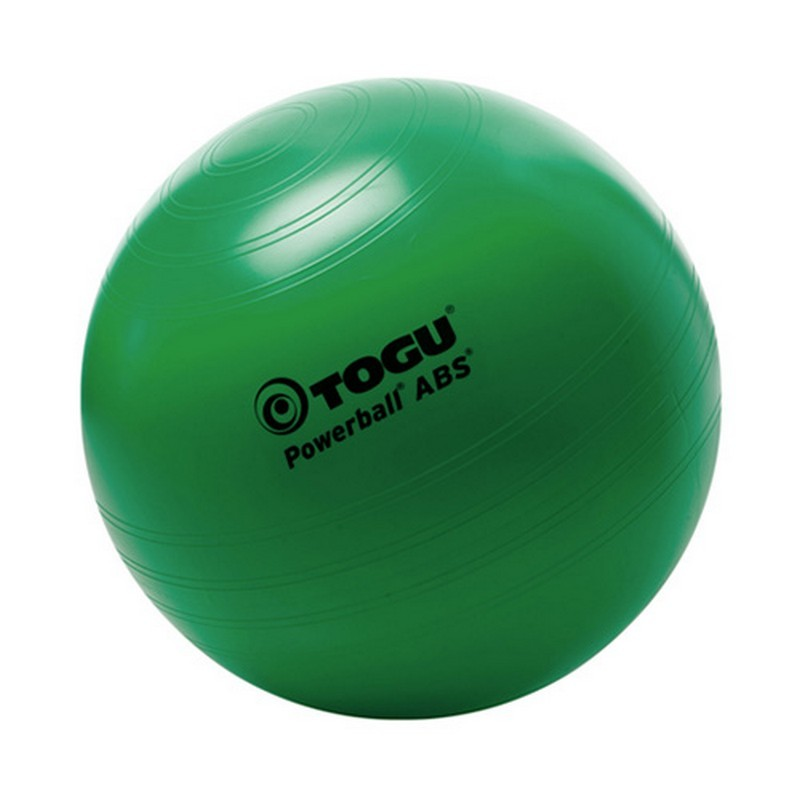 Мяч гимнастический TOGU ABS Powerball 406756 D=75 см зеленый