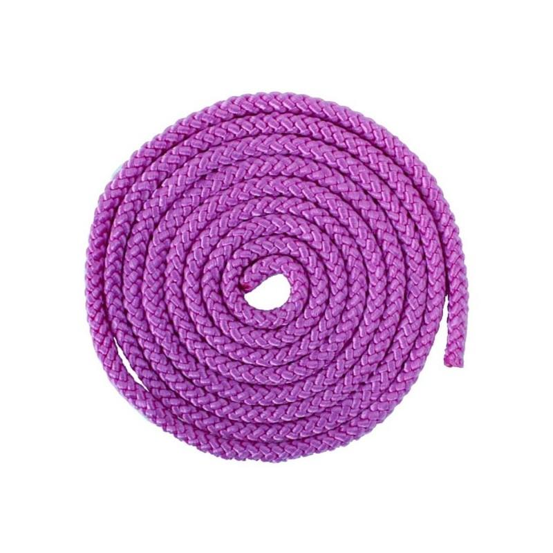 Скакалка гимнастическая AB255 фиолетовая