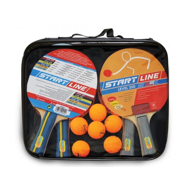 Комплект ракеток и мячей Start line Level 200