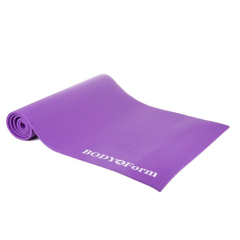 Коврик гимнастический Body Form 173x61x0,8 см BF-YM01 фиолетовый